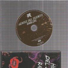 Vídeos y DVD Musicales: HEROES DEL SILENCIO RAREZAS DVD. Lote 173389394