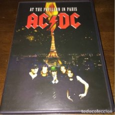 Vídeos y DVD Musicales: DVD AC/DC 'AT THE PAVILLON IN PARIS'. Lote 173532198