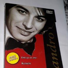 Vídeos y DVD Musicales: SANDRO 6 DVD CAJA COLECCIONABLE CON 6 PELICULAS DESPLEGABLE EXCELENTE!!!!!. Lote 173659497
