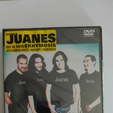 Vídeos y DVD Musicales: LOS INICIOS DE LOS JUANES CON EKHYMOSIS UNPLUGGED PRECINTADO MÁS DVD A LA VENTA. Lote 173847210