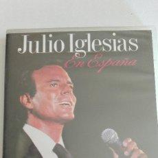 Vídeos y DVD Musicales: JULIO IGLESIAS EN ESPAÑA PRECINTADO MÁS DVD A LA VENTA. Lote 173847568