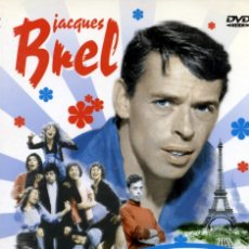Video e DVD Musicali: JACQUES BREL IS ALIVE AND WELL AND LIVING IN PARIS.. Lote 173856234