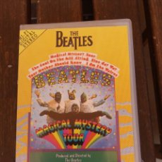 Vídeos y DVD Musicales: THE BEATLES MAGICAL MYSTERY TOUR CINTA VHS. Lote 173904490
