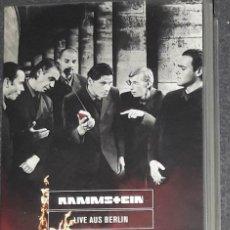Vídeos y DVD Musicales: RAMMSTEIN LIVE AUS BERLIN UNZENSIERTE VERSION VHS CONCIERTO. Lote 174028578