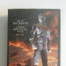 Vídeos y DVD Musicales: MICHAEL JACKSON VIDEO GREATEST HITS HISTORY VHS. Lote 174100939