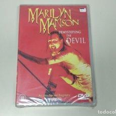 Vídeos y DVD Musicales: JJ8- MARILYN MANSON DEMYSTIFYING THE DEVIL 2000 DVD NUEVO PRECINTADO PRECIO LIQUIDACIÓN. Lote 174231054