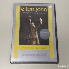 Vídeos y DVD Musicales: JJ8- ELTON JOHN ONE NIGHT ONLY THE GREATEST HITS 2001 DVD NUEVO PRECINTADO PRECIO LIQUIDACIÓN !!. Lote 174231375