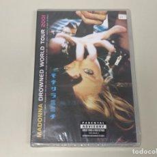 Vídeos y DVD Musicales: JJ8- MADONNA DROWNED WORLD TOUR 2001 2001 DVD NUEVO PRECINTADO PRECIO LIQUIDACIÓN !!. Lote 174234474