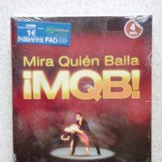 Vídeos y DVD Musicales: MIRA QUIEN BAILA.PACK DE LUJO..4 DVD´S.APRENDE A BAILAR Y LOS MEJORES BAILES DE MQB.PRECINTADO. Lote 174235342