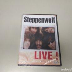 Vídeos y DVD Musicales: JJ8- STEPPENWOLF LIVE EU 2004 DVD NUEVO PRECINTADO PRECIO LIQUIDACIÓN!!!. Lote 174236668