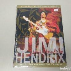 Vídeos y DVD Musicales: JJ8- JIMI HENDRIX LIVE AT THE ATLANTA POP FESTIVAL NUEVO PRECINTADO RARO!!. Lote 174238534