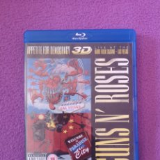 Vídeos y DVD Musicales: BOX SET BLU-RAY 3D + 2CD GUNS N' ROSES APPETITE FOR DEMOCRACY 3D BLURAY + 2 CDS AXL ROSE,. Lote 139154190