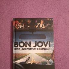 Vídeos y DVD Musicales: LIQUIDACIÓN DVD BON JOVI LOST HIGHWAY THE CONCERT DVD RICHIE SAMBORA. Lote 130570714