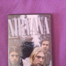 Vídeos y DVD Musicales: PRECIO LIQUIDACIÓN NIRVANA TALK TO ME DVD PRECINTADO KURT COBAIN. Lote 139165046