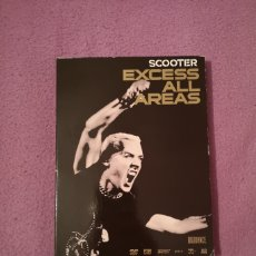 Video e DVD Musicali: PEDIDO MÍNIMO 5€ SCOOTER EXCESS ALL AREAS 2 DVD TECHNO HARDCORE HARDSTYLE JUMPSTYLE. Lote 50570291