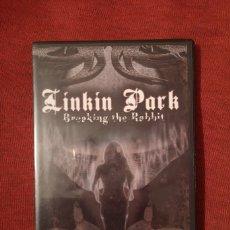 Vídeos y DVD Musicales: LIQUIDACIÓN DVD LINKIN PARK BREAKING THE RABBIT DVD NUEVO A ESTRENAR CHESTER BENNINGTON. Lote 102408299