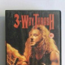 Vídeos y DVD Musicales: 3-WAY THRASH HEAVY METAL VHS. Lote 174481322