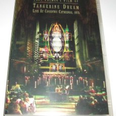 Vídeos y DVD Musicales: TANGERINE DREAM - LIVE AT COVENTRY CATHEDRAL 1975 - TONY PALMER - DVD NTSC. Lote 174496087