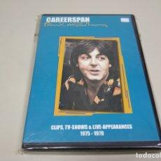 Vidéos y DVD Musicaux: JJ8- PAUL MCCARTNEY CAREERSPAN CLIPS TV DVD 1975/1979 NUEVO REPRECINTADO. Lote 175032053