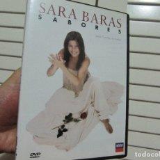Vídeos y DVD Musicales: SARA BARAS SABORES . Lote 175157008