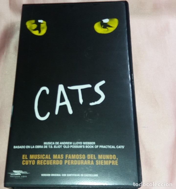 CATS - VIDEO VHS (EL MUSICAL MAS FAMOSO DEL MUNDO) VOIR PHOTOS (Música - Videos y DVD Musicales)