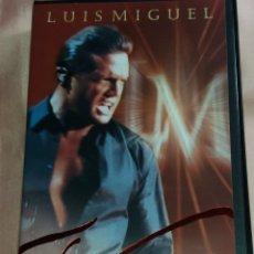 Vídeos y DVD Musicales: LUIS MIGUEL- VIDEO VHS (CONCIERTO - VIVO ) VER FOTOS . Lote 175294008