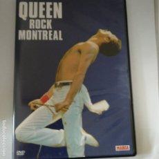 Vídeos y DVD Musicales: DVD QUEEN ROCK MONTREAL. Lote 175356867