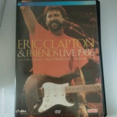 Vídeos y DVD Musicales: DVD ERIC CLAPTON & FRIENDS/LIVE 1986.. Lote 175356967