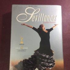 Vidéos y DVD Musicaux: DVD MUSICAL: SEVILLANAS DE CARLOS SAURA(VERSIÓN DIGITAL).. Lote 175722693