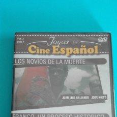 Vídeos y DVD Musicales: DVD LOS NOVIOS DE LA MUERTE-FRANCO,UN PROCESO HISTORICO PRECINTADO MÁS A LA VENTA APROVECHA EL ENVÍO. Lote 175780949