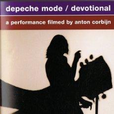 Vídeos e DVD Musicais: DEPECHE MODE/ DEVOTIONAL A PERFORMANCE FILMED BY ANTON CORBIJN . Lote 175798023