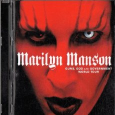 Vídeos y DVD Musicales: MARILYN MANSON GUNS,GOD AND GOVERNMENT WORLD TOUR . Lote 175798444