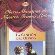 Vídeos y DVD Musicales: LA CANCIÓN DEL OLVIDO - JUAN DE ORDUÑA - VHS - ZARZUELA. Lote 175814389