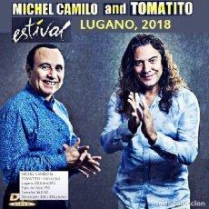 Vidéos y DVD Musicaux: MICHEL CAMILO & TOMATITO - ESTIVAL LUGANO, SWITZERLAND, JULY 13, 2018 (DVD). Lote 175840183