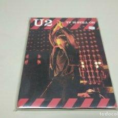 Vidéos y DVD Musicaux: JJ8- U2 TV IS STILL ON 2005 DVD NUEVO REPRECINTADO !!! PRECIO LIQUIDACIÓN!!!. Lote 175969812