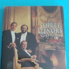 Vídeos y DVD Musicales: THE THREE TENORS CHRISTMAS LOS TRES TENORES CD+DVD PRECINTADO. Lote 175979012