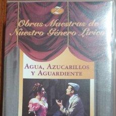 Vídeos y DVD Musicales: AGUA, AZUCARILLOS Y AGUARDIENTE - VHS - ZARZUELA. Lote 176405497