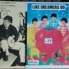 Vídeos y DVD Musicales: THE BEATLES: CAJA CD REAL LOVE + DOS FANZINES. Lote 176447500