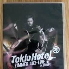 Vídeos y DVD Musicales: DVD DOBLE TOKIO HOTEL 483 LIVE IN EUROPE. Lote 176497340