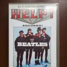 Vídeos y DVD Musicales: BEATLES - 2 VIDEOS - HELP! + LIVE - VHS. Lote 176501383