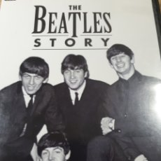 Vídeos y DVD Musicales: THE BEATLES STORY THE LIFETIME BIOGRAPHY. Lote 176601284