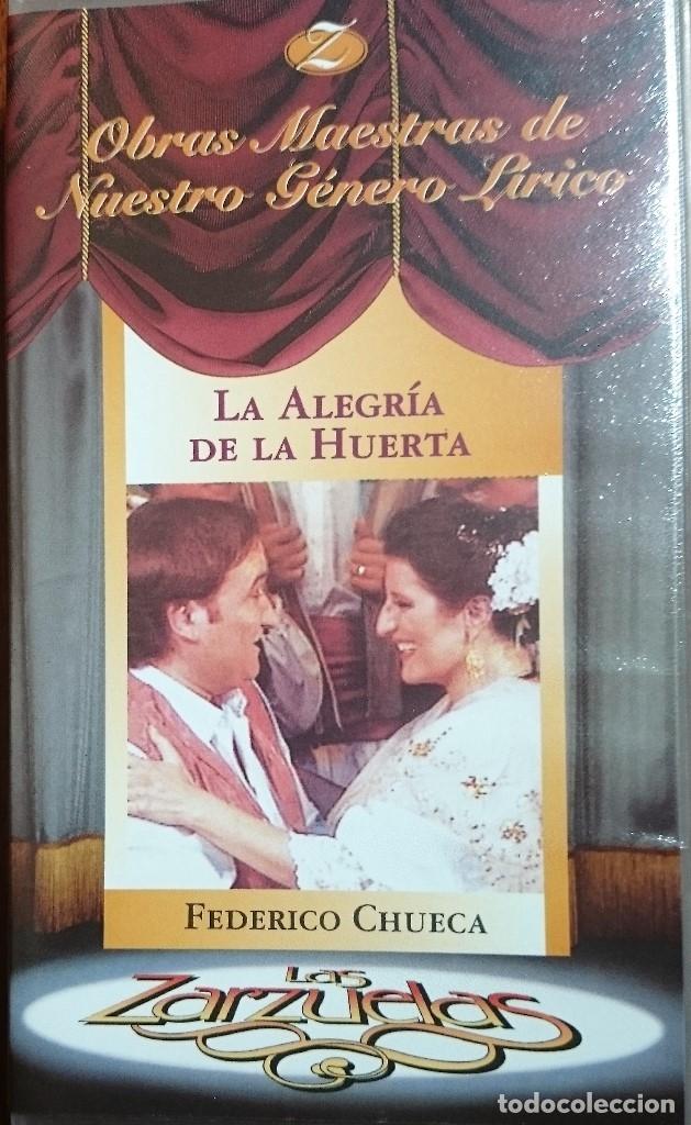 LA ALEGRÍA DE LA HUERTA - VHS - ZARZUELA (Música - Videos y DVD Musicales)