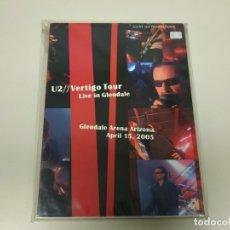 Vidéos y DVD Musicaux: JJ9- U2 VERTIGO TOUR LIVE IN GLENDALE ARENA APRIL 2005 NUEVO DVD REPRECINT RARO. Lote 176721917