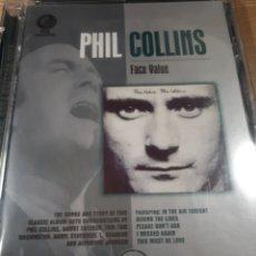 Vídeos y DVD Musicales: PHIL COLLINS FACE VALUE. Lote 176832803