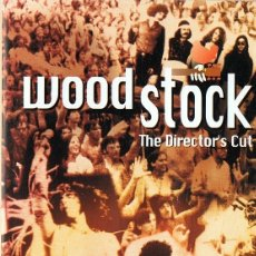 Vídeos y DVD Musicales: WOODSTOCK THE DIRECTOR´S CUT . Lote 176849514