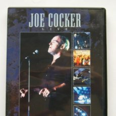 Vídeos y DVD Musicales: JOE COCKER LIVE - ACROSS FROM MIDNIGHT TOUR - DVD. Lote 176884564