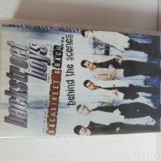 Vídeos y DVD Musicales: VHS / BACKSTREET BOYS BEHIND THE SCENES. Lote 176892064