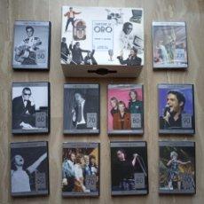 Vidéos y DVD Musicaux: DVD. CANCIONES DE ORO. CRÓNICA DE NUESTRA VIDA. 10 DVDS (7 PRECINTADOS)+ESTUCHE.. Lote 176965419