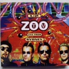 Vídeos y DVD Musicales: U2. ZOO TV LIVE FROM SYDNEY. DVD ISLAND RECORDS 5363989. ESPAÑA 2016. COLECCIÓN EL PAIS.. Lote 177050220
