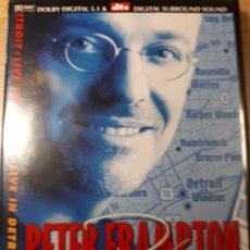 Vídeos y DVD Musicales: PETER FRAMPTON LIVE IN DETROIT. Lote 177199254